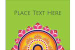 Customize personal or professional projects with pre-designed Diwali Rangoli templates.