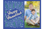 Add seasonal well wishes to projects with pre-designed Hanukkah Floral templates.