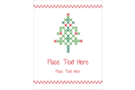 Add loads of charm to custom projects with pre-designed Cross Stitch Tree templates.
