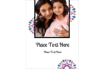 Customize personal or professional projects with pre-designed Diwali Ribbon templates.