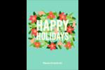 Pleine floraison  Étiquettes rectangulaires - gabarit prédéfini. <br/>Utilisez notre logiciel Avery Design & Print Online pour personnaliser facilement la conception.
