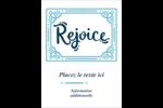 « Rejoice » écrit à la main Étiquettes rondes - gabarit prédéfini. <br/>Utilisez notre logiciel Avery Design & Print Online pour personnaliser facilement la conception.