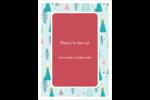 Les gabarits Motif d'arbres pour votre prochain projet des Fêtes Étiquettes rectangulaires - gabarit prédéfini. <br/>Utilisez notre logiciel Avery Design & Print Online pour personnaliser facilement la conception.