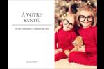 Un simple mot Carte Postale - gabarit prédéfini. <br/>Utilisez notre logiciel Avery Design & Print Online pour personnaliser facilement la conception.