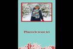 Les gabarits Éléphant blanc pour votre prochain projet des Fêtes Carte Postale - gabarit prédéfini. <br/>Utilisez notre logiciel Avery Design & Print Online pour personnaliser facilement la conception.