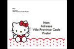 Salut Hello Kitty Étiquettes d'expédition - gabarit prédéfini. <br/>Utilisez notre logiciel Avery Design & Print Online pour personnaliser facilement la conception.