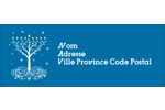 Arbre de Hanoukka Étiquettes D'Adresse - gabarit prédéfini. <br/>Utilisez notre logiciel Avery Design & Print Online pour personnaliser facilement la conception.