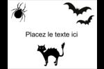 Prime d'Halloween Carte Postale - gabarit prédéfini. <br/>Utilisez notre logiciel Avery Design & Print Online pour personnaliser facilement la conception.