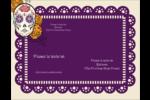 Halloween, jour des Morts Carte Postale - gabarit prédéfini. <br/>Utilisez notre logiciel Avery Design & Print Online pour personnaliser facilement la conception.