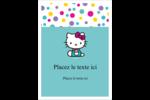 Fête Hello Kitty Étiquettes rondes - gabarit prédéfini. <br/>Utilisez notre logiciel Avery Design & Print Online pour personnaliser facilement la conception.