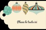 Motif de décorations Étiquettes imprimables - gabarit prédéfini. <br/>Utilisez notre logiciel Avery Design & Print Online pour personnaliser facilement la conception.