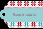 Chandail de poinsettias Étiquettes imprimables - gabarit prédéfini. <br/>Utilisez notre logiciel Avery Design & Print Online pour personnaliser facilement la conception.