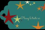 Étoiles du Nouvel An Étiquettes imprimables - gabarit prédéfini. <br/>Utilisez notre logiciel Avery Design & Print Online pour personnaliser facilement la conception.