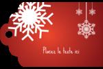 Les gabarits Flocons de neige en feutre pour votre prochain projet des Fêtes Étiquettes imprimables - gabarit prédéfini. <br/>Utilisez notre logiciel Avery Design & Print Online pour personnaliser facilement la conception.