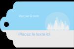 Forêt bleue Étiquettes imprimables - gabarit prédéfini. <br/>Utilisez notre logiciel Avery Design & Print Online pour personnaliser facilement la conception.
