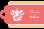 Ganesh Divali  Étiquettes imprimables - gabarit prédéfini. <br/>Utilisez notre logiciel Avery Design & Print Online pour personnaliser facilement la conception.