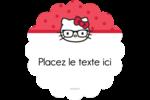 Votre Ami Hello Kitty Étiquettes rondes - gabarit prédéfini. <br/>Utilisez notre logiciel Avery Design & Print Online pour personnaliser facilement la conception.
