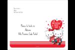 Hello Kitty et Cher Daniel Valentin Étiquettes d'expédition - gabarit prédéfini. <br/>Utilisez notre logiciel Avery Design & Print Online pour personnaliser facilement la conception.