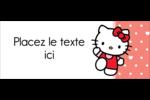 Nous aimons Hello Kitty Affichette - gabarit prédéfini. <br/>Utilisez notre logiciel Avery Design & Print Online pour personnaliser facilement la conception.