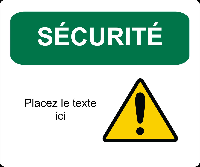 """½"""" x 1¾"""" Étiquettes D'Adresse - Sécurité et prévention"""
