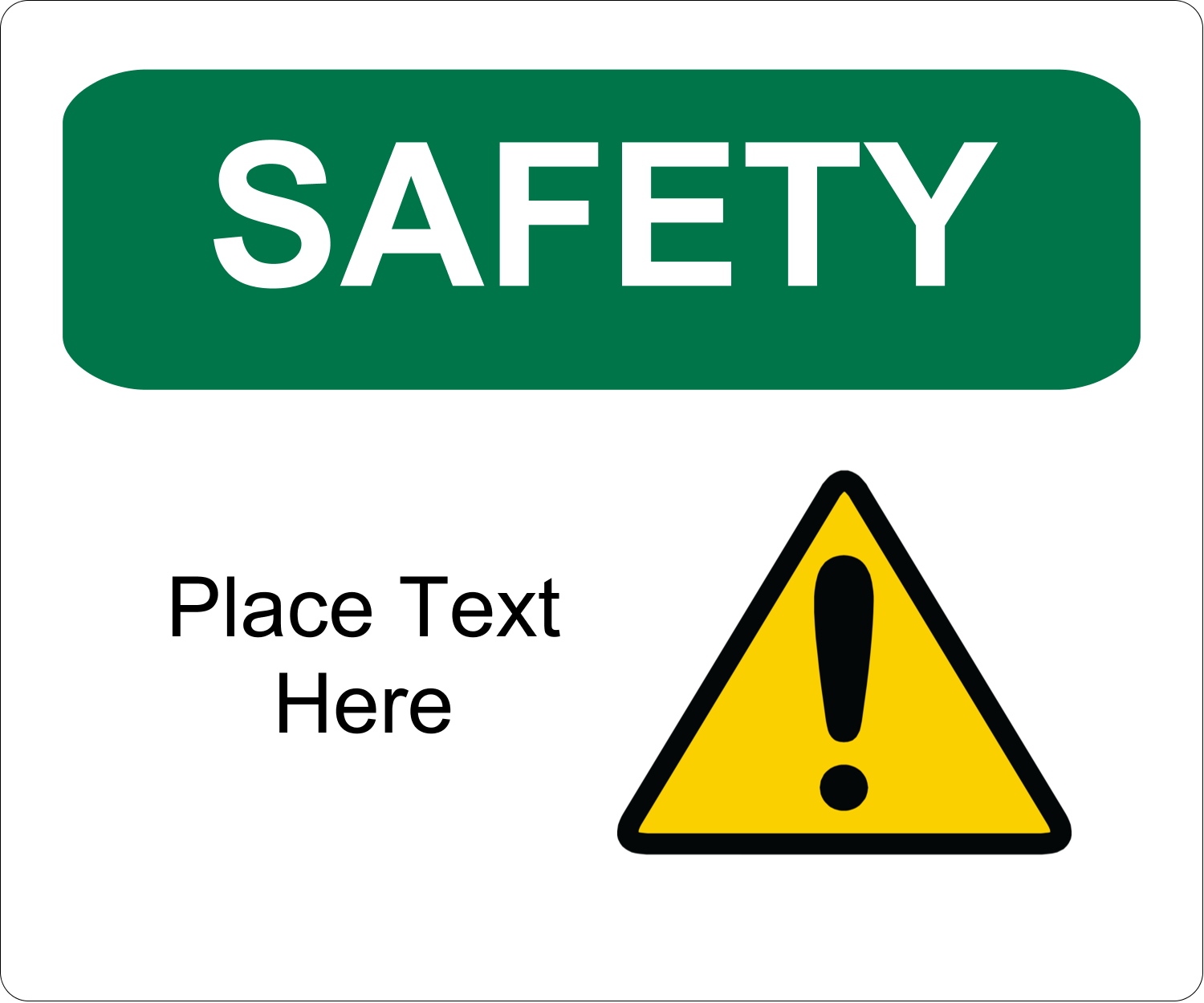 """3⅓"""" x 4"""" Shipping Label - Safety Prevention"""