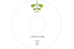 Infuse festive fun into custom projects with pre-designed Simple Mistletoe templates.