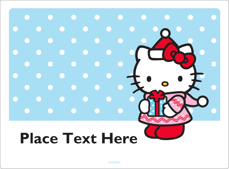 "3½"" x 4¾"" Rectangular Label - Small Gift, Big Smile®"
