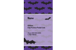 Custom projects will feel spooktacular with pre-designed Halloween Bats templates.