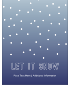 Add winter charm to custom projects with pre-designed Minimalistic Polka Dots templates.