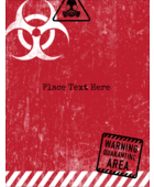 Infect projects with fearful fun using pre-designed Halloween Zombie Apocalypse templates.