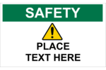 Add a general warning to your project with pre-designed Safety Prevention templates.
