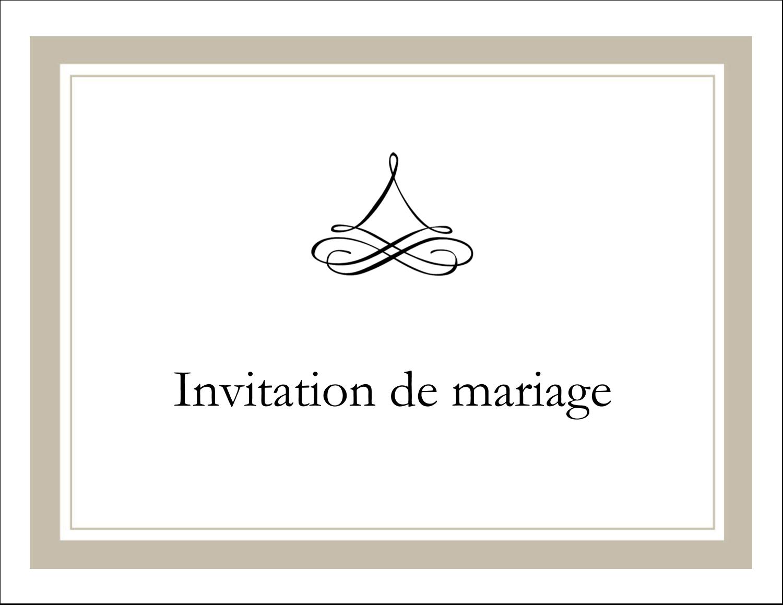 """8½"""" x 11"""" Cartes Et Articles D'Artisanat Imprimables - Mariage simple"""