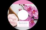Glaçage et orchidée rose Étiquettes Pour Médias - gabarit prédéfini. <br/>Utilisez notre logiciel Avery Design & Print Online pour personnaliser facilement la conception.
