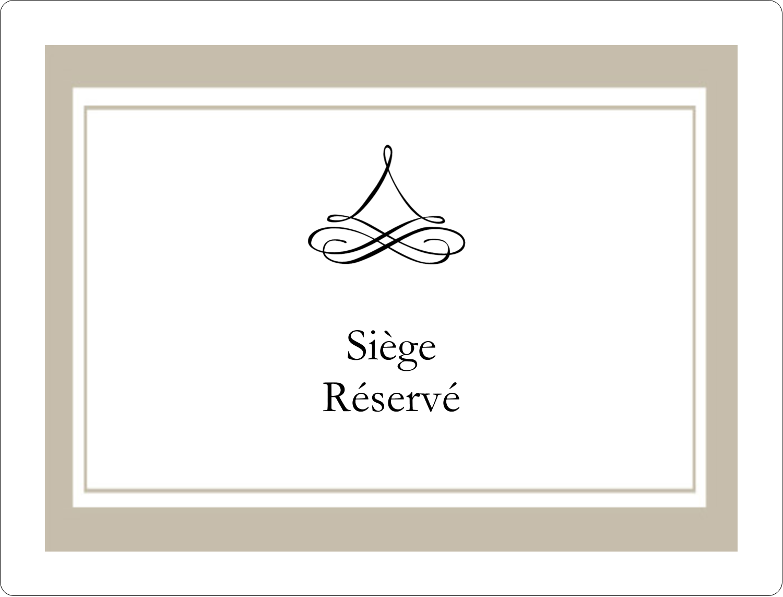 """8⅛"""" x 5"""" Étiquettes d'expéditions - Mariage simple"""