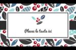 Feuillu Cartes Pour Le Bureau - gabarit prédéfini. <br/>Utilisez notre logiciel Avery Design & Print Online pour personnaliser facilement la conception.