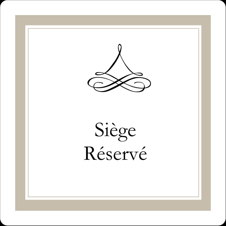 """3½"""" x ⅝"""" Étiquettes de classement - Mariage simple"""