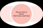Traitement Sphère rose Étiquettes carrées - gabarit prédéfini. <br/>Utilisez notre logiciel Avery Design & Print Online pour personnaliser facilement la conception.