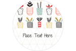 Add homegrown charm to your custom project with pre-designed Plant Collection templates.