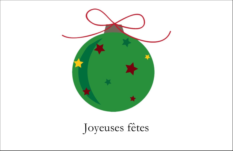 """8½"""" x 11"""" Cartes Et Articles D'Artisanat Imprimables - Boule étoilée"""