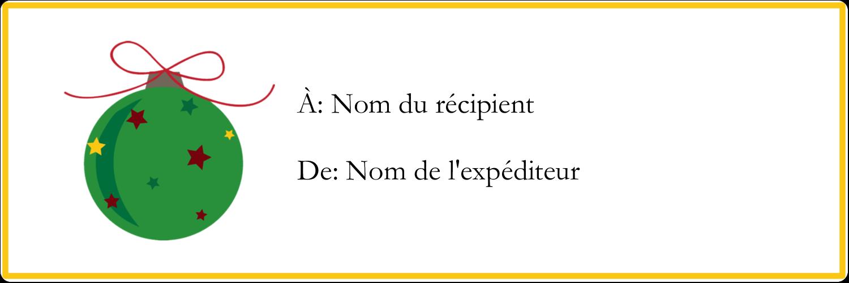 "8½"" x 11"" Intercalaires / Onglets - Boule étoilée"