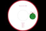 Boule étoilée Étiquettes de classement - gabarit prédéfini. <br/>Utilisez notre logiciel Avery Design & Print Online pour personnaliser facilement la conception.