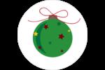 Boule étoilée Étiquettes Voyantes - gabarit prédéfini. <br/>Utilisez notre logiciel Avery Design & Print Online pour personnaliser facilement la conception.