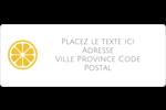 Petite icône d'agrume Étiquettes D'Adresse - gabarit prédéfini. <br/>Utilisez notre logiciel Avery Design & Print Online pour personnaliser facilement la conception.