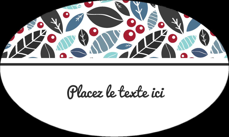 """1½"""" x 1½"""" Étiquettes carrées - Feuillu"""