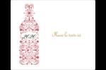 Bouteille de champagne en spirale Étiquettes D'Adresse - gabarit prédéfini. <br/>Utilisez notre logiciel Avery Design & Print Online pour personnaliser facilement la conception.