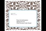 Tourbillons Étiquettes D'Adresse - gabarit prédéfini. <br/>Utilisez notre logiciel Avery Design & Print Online pour personnaliser facilement la conception.
