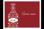 Bouteille de champagne en spirale Cartes Et Articles D'Artisanat Imprimables - gabarit prédéfini. <br/>Utilisez notre logiciel Avery Design & Print Online pour personnaliser facilement la conception.