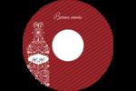 Bouteille de champagne en spirale Étiquettes de classement - gabarit prédéfini. <br/>Utilisez notre logiciel Avery Design & Print Online pour personnaliser facilement la conception.
