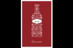 Bouteille de champagne en spirale Reliures - gabarit prédéfini. <br/>Utilisez notre logiciel Avery Design & Print Online pour personnaliser facilement la conception.