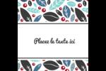 Feuillu Étiquettes carrées - gabarit prédéfini. <br/>Utilisez notre logiciel Avery Design & Print Online pour personnaliser facilement la conception.